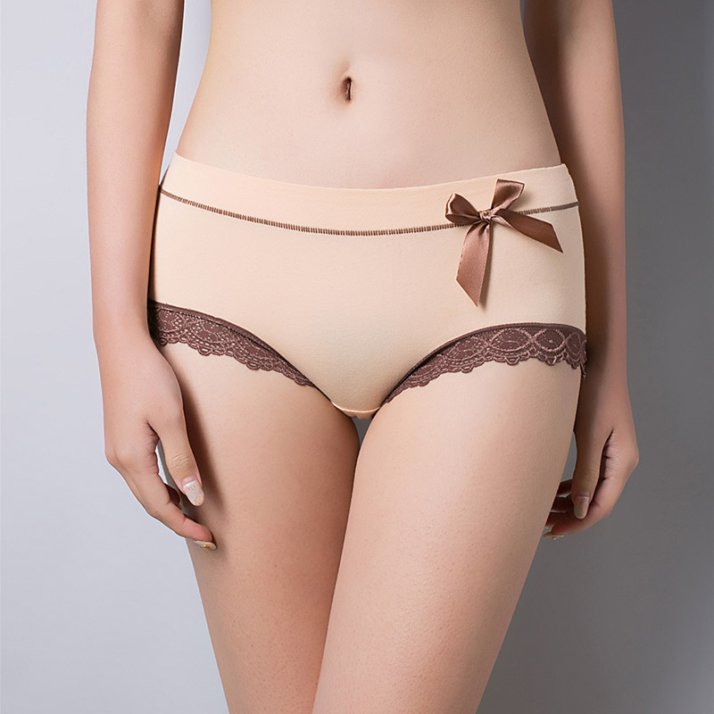 SEEDRULIA New Arriving Sexy Lace Briefs Underwear Women Cotton   Panties   For Ladies Sexy Soft Female Sexy Lingerie