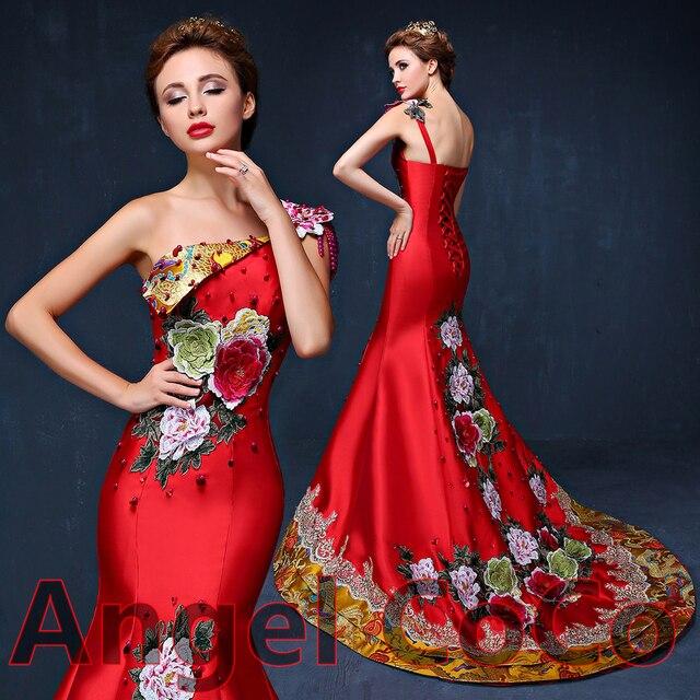 Luxus Schulter Griechischen Göttin Abendkleid Lange Arabien Dubai ...