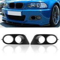 High Quality Fog Light Box Under Net Light Cover Fog Shade For BMW 3 Series E46 Original M3 Car E46