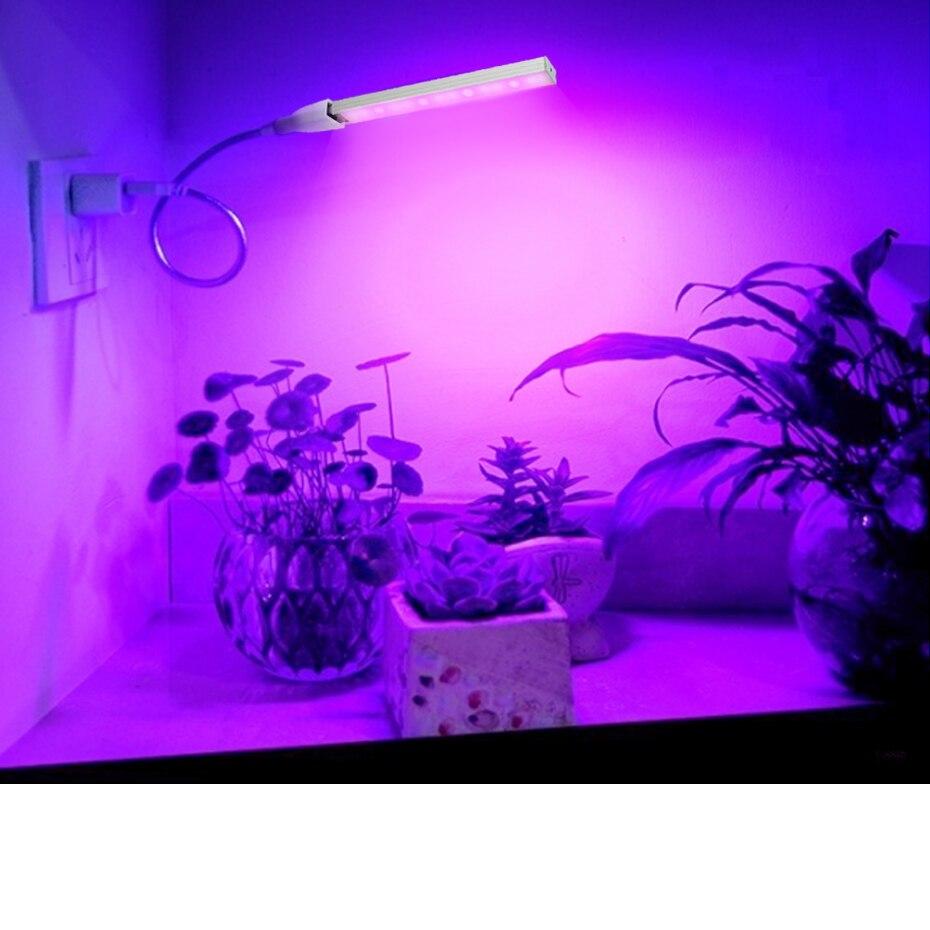 USB Ha Condotto Coltiva La lampada Per Le Piante Spettro Completo Led Coltiva La Luce di Alluminio di Alta Qualità Per La Vegetazione Piante Fiori di Illuminazione Interna