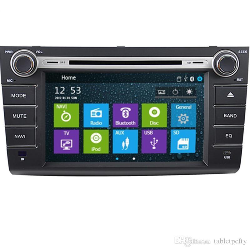 8 lecteur DVD de voiture avec GPS (opt), BT/TV, audio Radio stéréo, multimédia de voiture pour SUZUKI SWIFT 2004 2005 2006 2007 2008 2009 2010 2011