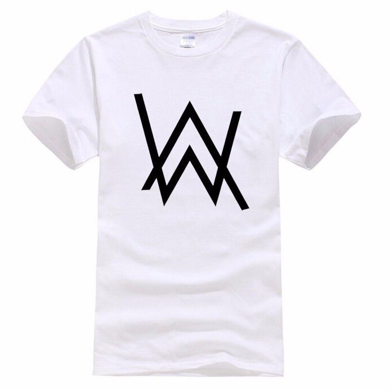 Newest DJ Alan Walker Mens Sport T-Shirt Casual Tops Short Sleeve Tee plus size