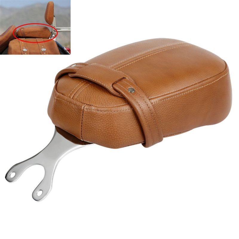 Motorcycle Leather Passenger Pillion Seat For Indian Scout Models 15 18 Scout Sixty 16 18