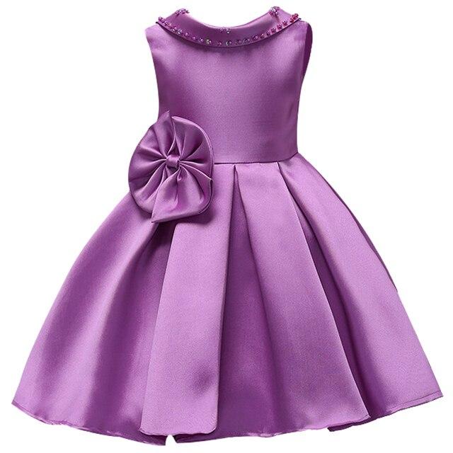 f1b7ca32f6d166 Brand Quality Children Princess Dress Kids Fashion Backless Beading Party  Dress Flower Girls Party Wedding Baby Formal Prom Wear