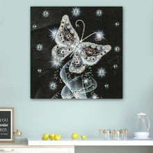 High Quality Diamond  Painting Special Shaped Diamonds Wall Paintings Bedroom Dinner Room Sticker Decorations