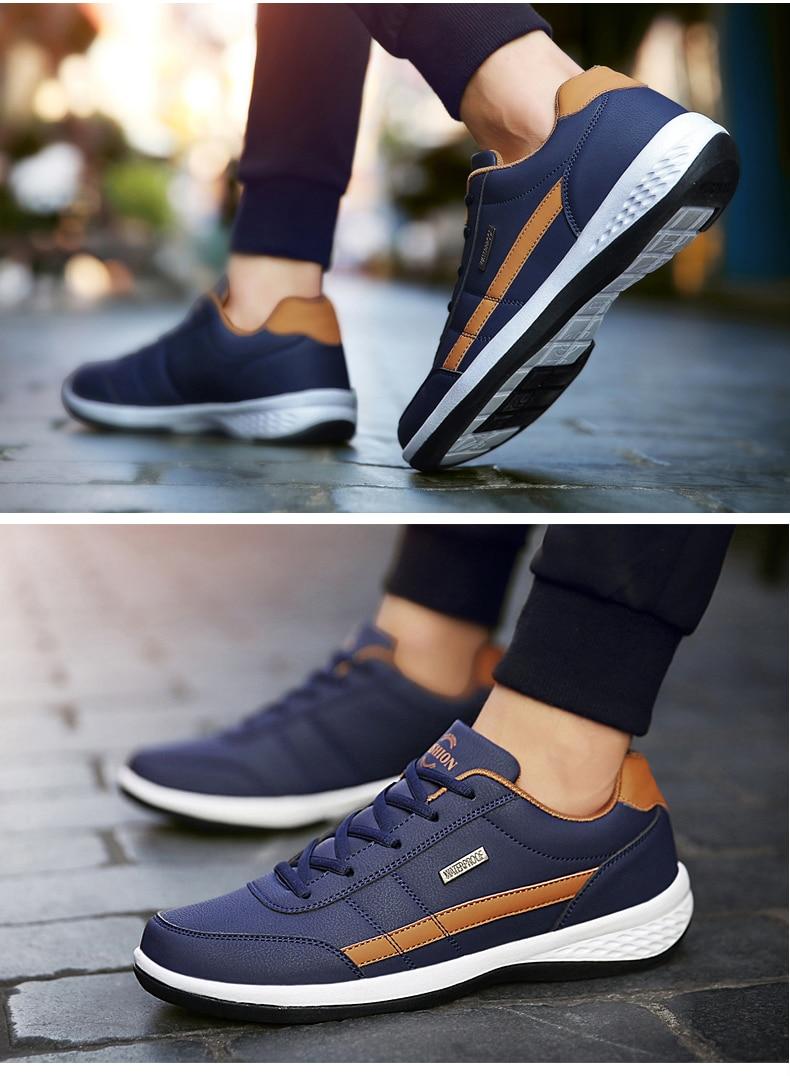 1_08  Fashion Men Sneakers for Men Casual Shoes HTB19mOWX5DxK1Rjy1zcq6yGeXXa5