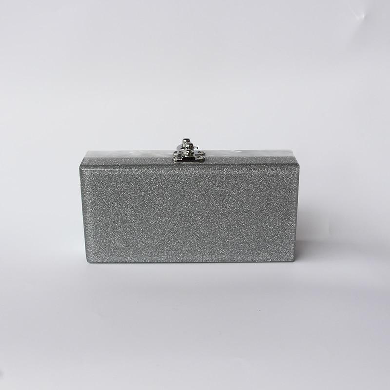 Caja de acrílico bolso de embrague de las mujeres pequeña bolsa de - Bolsos - foto 5
