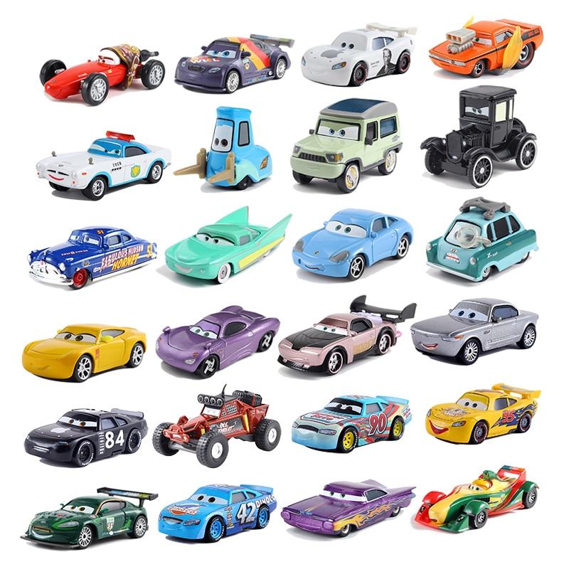 Brand New Disney Pixar Cars Lizzie Diecast Toy Car 1:55 Allentato Brand New In Azione Libera di Trasporto