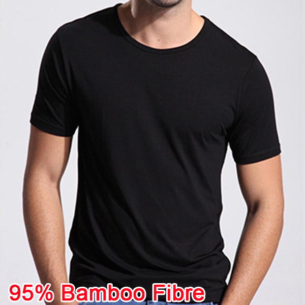 2016 new bamboo fiber anti sweat smell t shirt summer for Bamboo fiber t shirt
