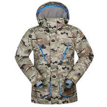 skiing jackets New Arrival Outdoor camouflage Snow Ski Snowboard Jacket Men Winter Sport Ski Suit Waterproof Warm Ski Clothing