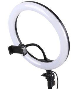 Image 5 - 26 32 34 45 53 センチメートルusb充電器selfieリングライトフラッシュledカメラ電話の写真撮影強化のためのスマートフォンスタジオvk