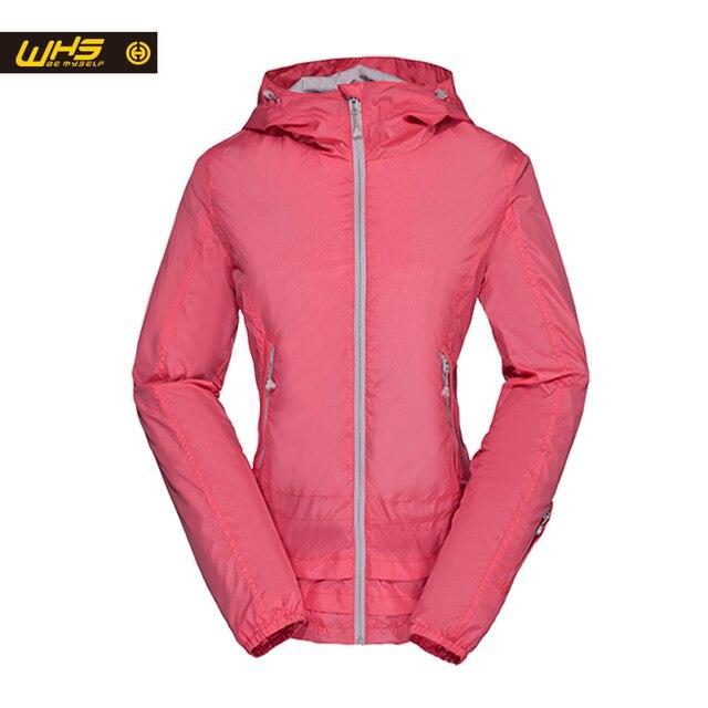 WHS 2016 Женщины монохромный Пальто Водонепроницаемая Куртка Город Спорт Куртка Женщин Ветрозащитный одежды hotting мода стиль