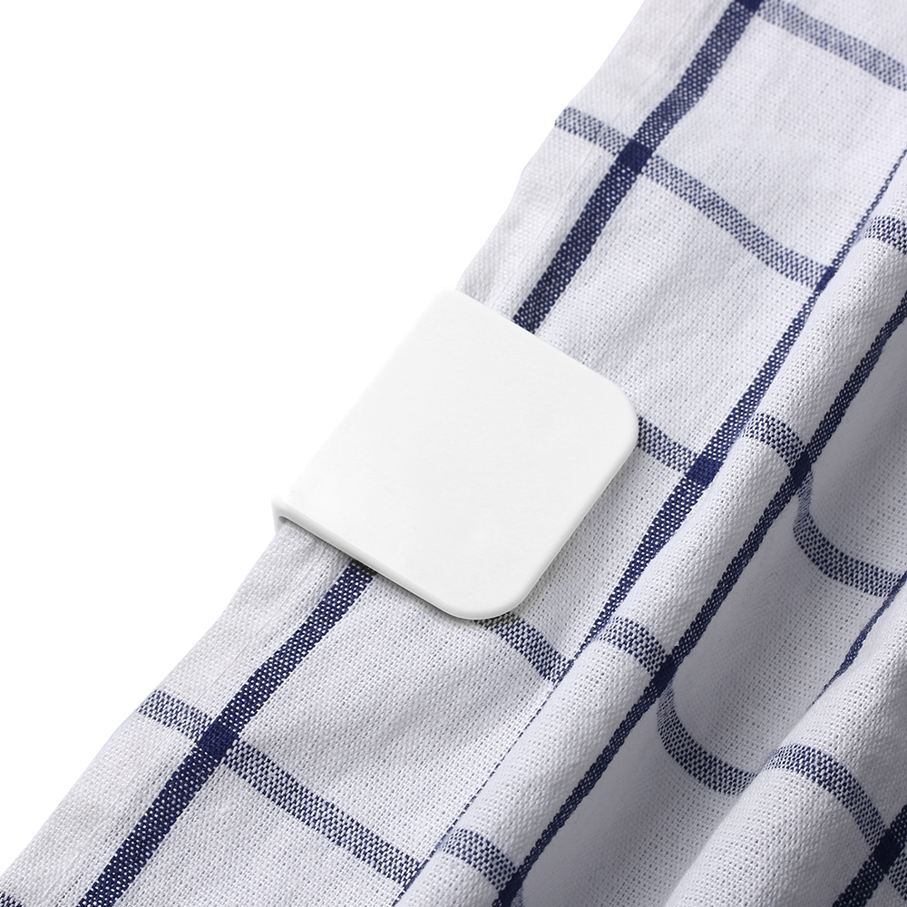 2pcs Pair Removable Plastic Shower Curtain Clips Useful