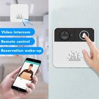 SDETER Wireless Intercom Door Bell Wifi Doorbell Video Camera Two Way Audio Night Vision APP Control for iOS Android Phones