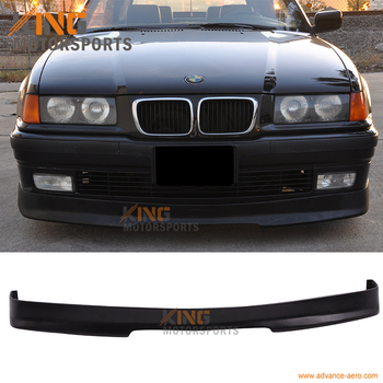 Fit For 92-98 BMW E36 3-Series Front Bumper Lip PU image