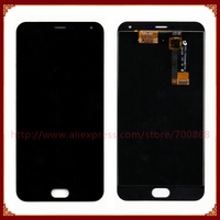 100 New For Meizu M2 Note LCD Screen With Touch Screen Digitizer Assembly Replacement For Meilan
