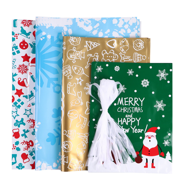 Drawstring Holiday Gift Bags 3