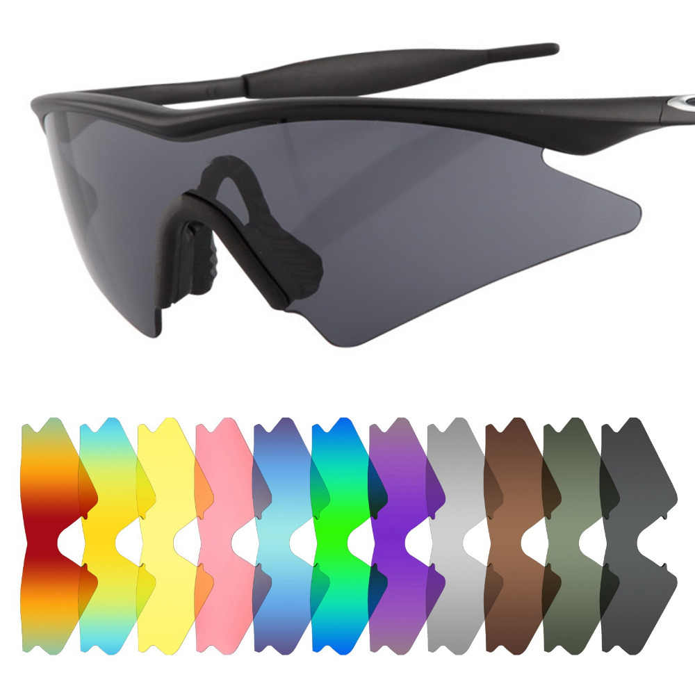 dbe1323b0bac Mryok Anti-Scratch POLARIZED Replacement Lenses for Oakley M Frame Sweep  Sunglasses Lens-Multiple