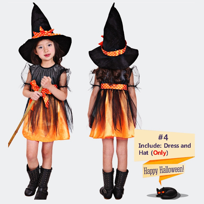Fancy Masquerade Bat Girls Dress Witch Clothing Halloween Costume for Girls Kids Cosplay Clothes Carnival Costumes стоимость