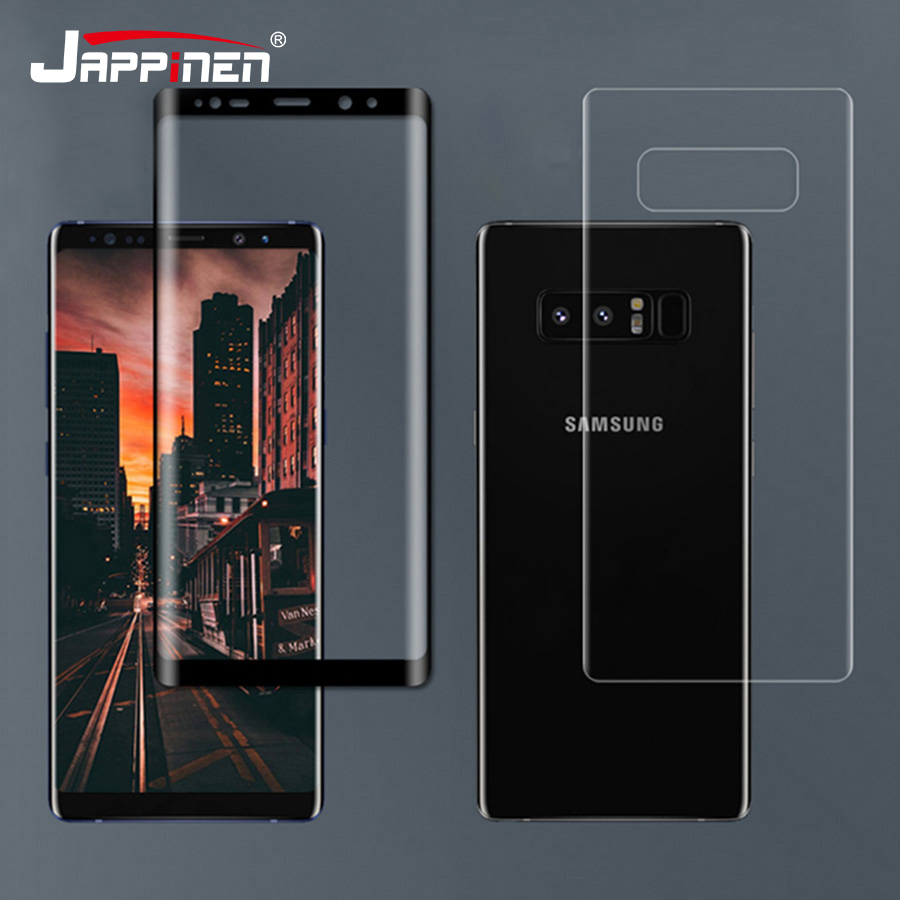 2pcs Front+back 3d Full Cover Screen Protector For Samsung Galaxy Note 9 S9 S8 S10 Plus S10e Note 8 S7 Edge Pet Film not Glass Activating Blood Circulation And Strengthening Sinews And Bones