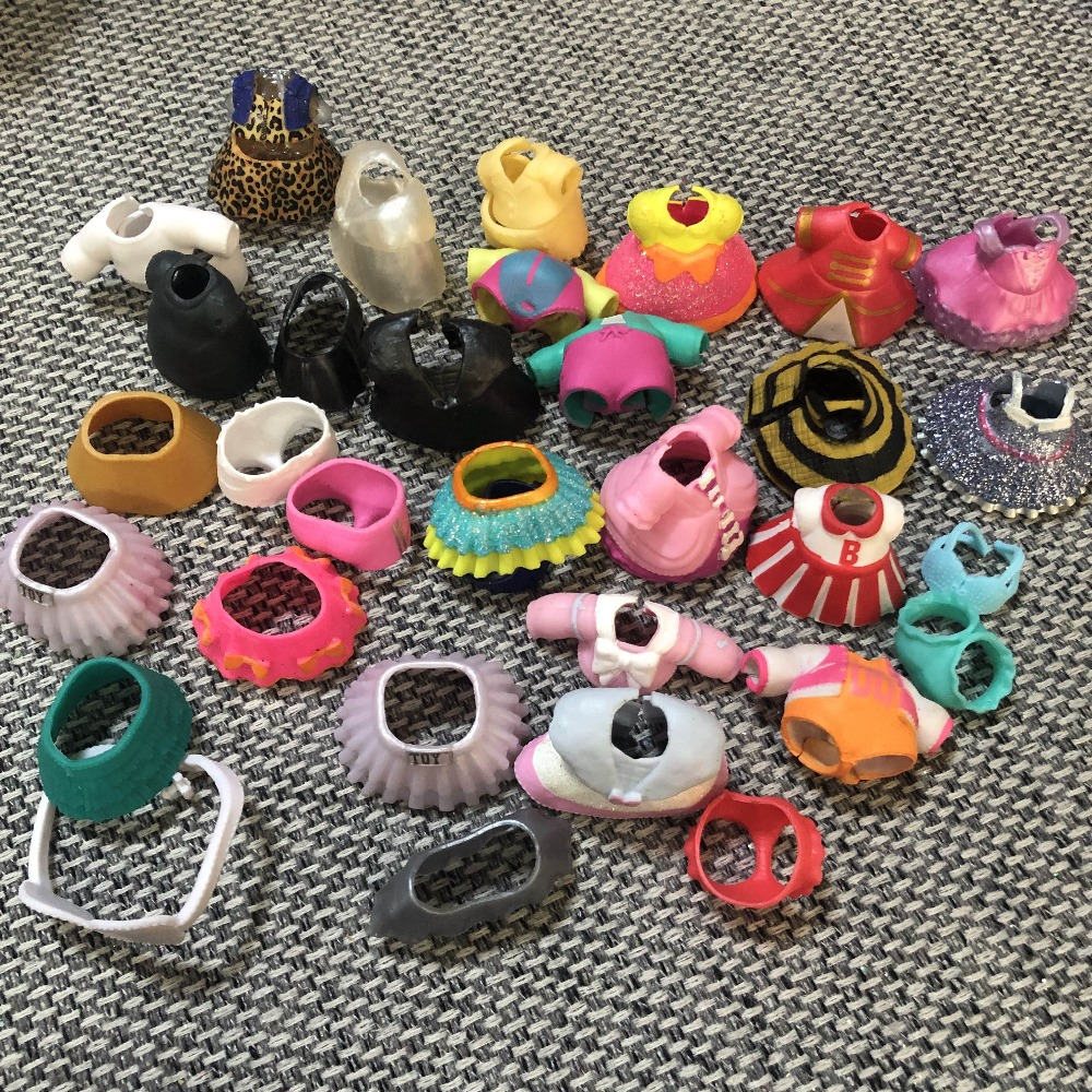 LOL  Series 4 Part Of Clothes Dress Open Color Change Dolls Glitter Serie 3 In The Balls Toys For Girls