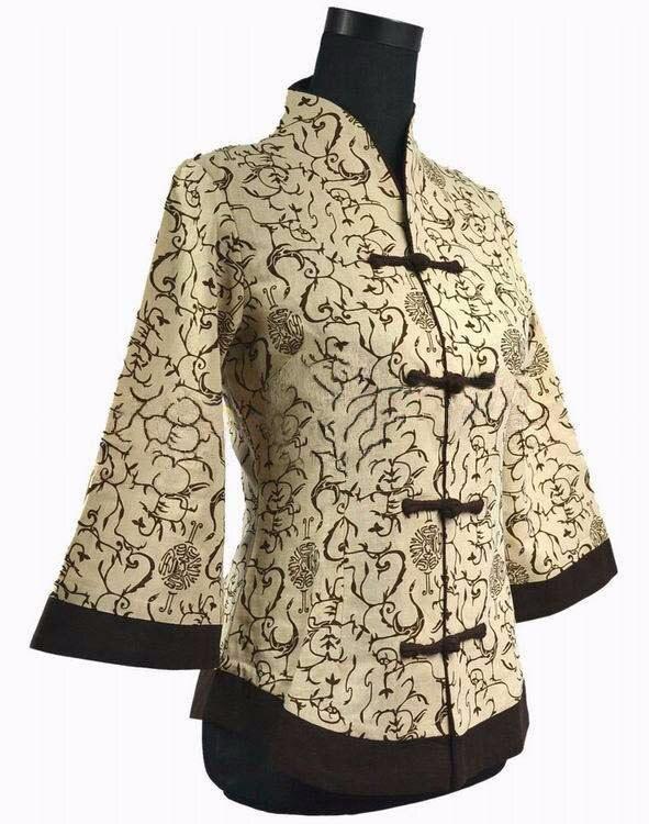 Весенняя Новинка хлопок китайский стиль Женский Тан пиджак традиционные пуговицы ручной работы пальто размера плюс S до 5XL 2218