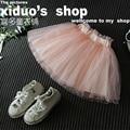 kids tulle skirt pink summer 2016 children skirt for girls cheap clothes girl-garment