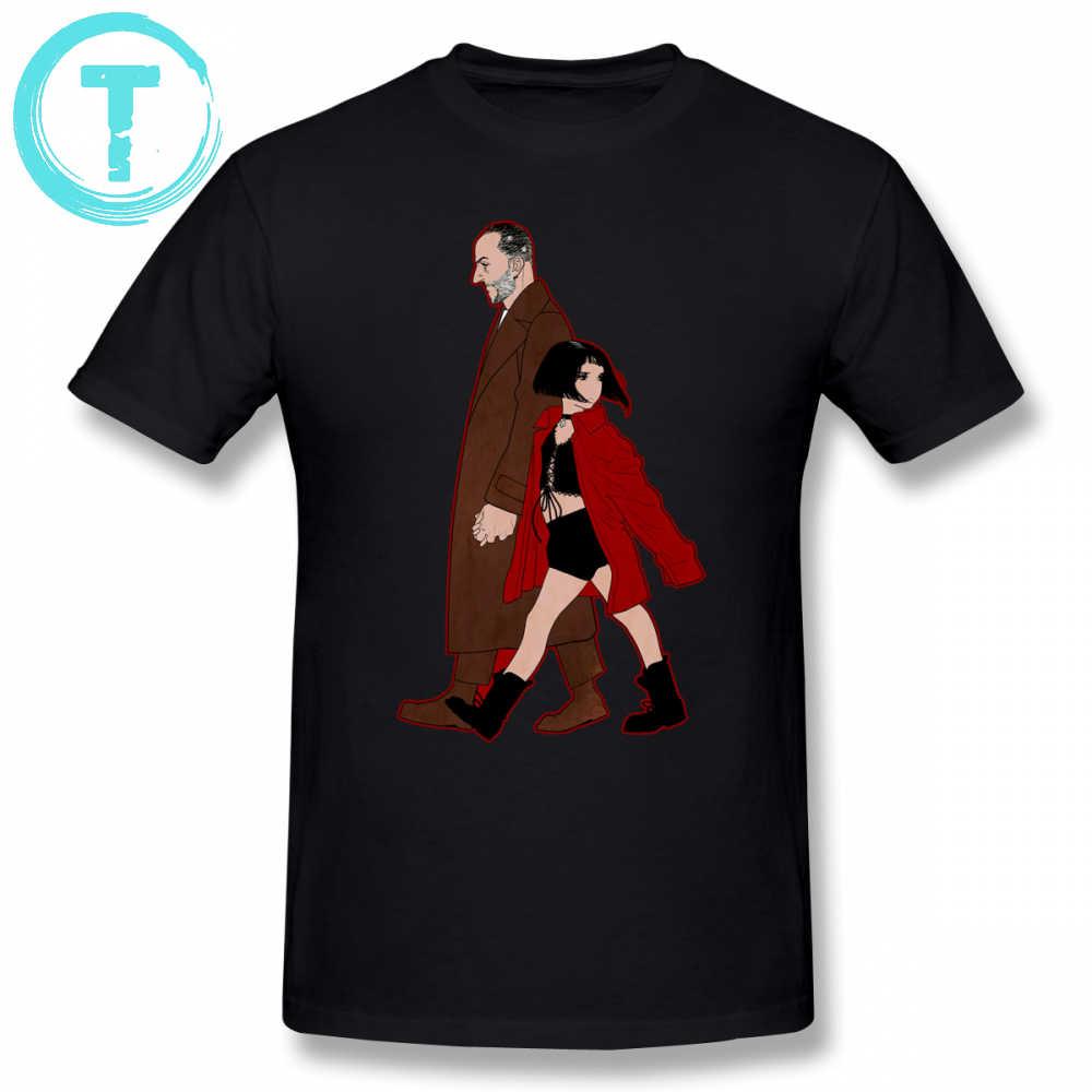 Leon Professional T เสื้อ Leon Professional Mathilda เสื้อยืด Man 6XL TEE เสื้อผ้าฝ้าย 100 สนุก TShirt
