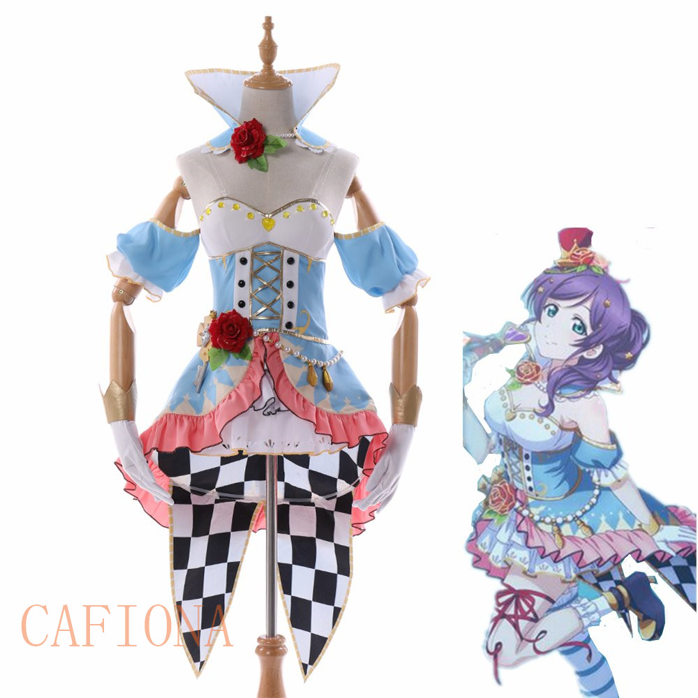 Cafiona love live cosplay nozomi tojo cosplay costume new LoveLive Sunshine cosplay set custom made size