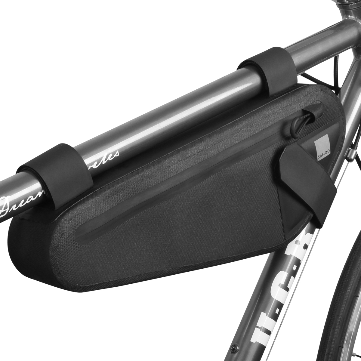 Cycling Bicycle Bike Handlebar Front Frame Tube Bag Pouch Case Basket Pannier #5