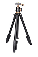 QZSD Q160S Lightweight Camera Tripod With Multifunctional Ball Head For Canon Nikon Sony DV SLR DSLR Portable Compact Tripod