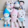 Fio de Lã bonito Criativo Boneca Fantasia Dos Desenhos Animados Stuffed Toy Algodão Macio Para Crianças Presentes de Aniversário Dos Miúdos Em Estoque Frete Grátis