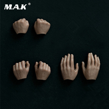 Three Pairs 1/6 Scale Male Hand Types Models Fit 12 Inches Male Action Figures