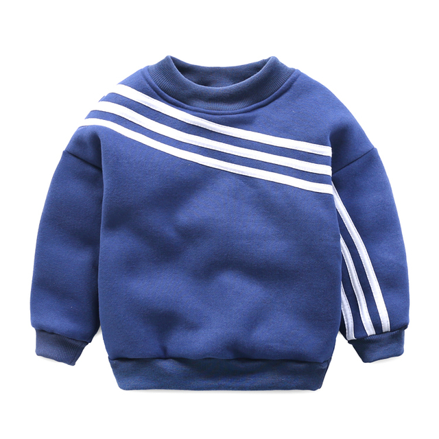Boys Fleece sweater movement Korean children 2017 new children's wear small baby coat thick pullovers