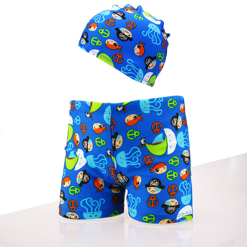 7fc4d5b41d Plus Size Boys Swimwear Cartoon Animal Printed Swimming Trunks ...