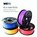Weiyu 3D Drucker Filament 1 75 1 KG PLA Holz ABS PetG Metall Kunststoff Filament Materialien für RepRap 3D Drucker Stift 27 farbe Option-in 3D Druck-Materialien aus Computer und Büro bei