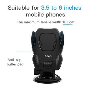 Image 5 - HOCO cam montaj araç telefonu tutucu Samsung S9 S8 artı 360 rotasyon araba tutucu iPhone XS 8 Huawei telefon standı braketi