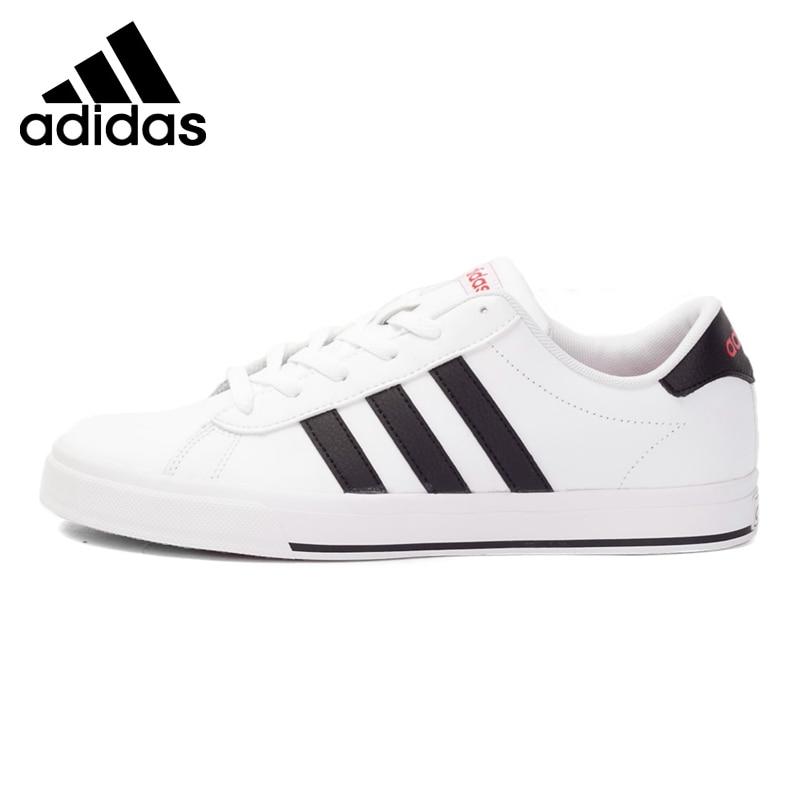 Prix pour Original Nouvelle Arrivée 2017 Adidas NEO Étiquette QUOTIDIENNE Hommes de Planche À Roulettes en cuir Chaussures Sneakers