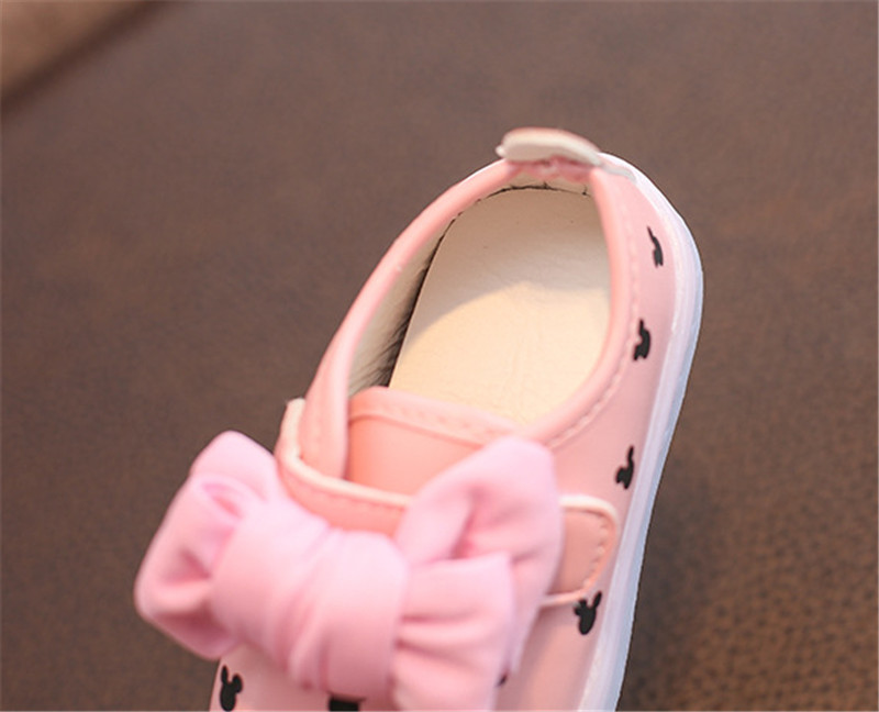 kids girls shoes with light (4)