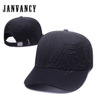 Janvancy Baseball Caps Men Women Snapback Hats Man Woman Dad Black Brand Design Outdoor Driving Fishing