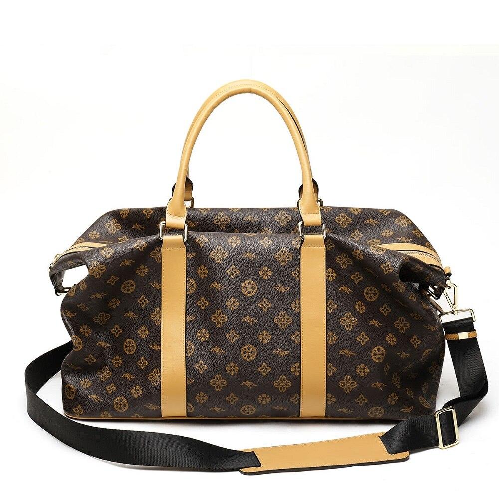 Waterproof Luggage Bag Business Men Travel Bags Luxury PVC Handbag sac a main Women Shoulder Bag Large Fitness Bag bolso mujer
