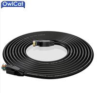 OwlCat Mạng Ethernet Cable CAT6 UTP 24AWG * 4 P 20 mét Ngoài Trời Cao-tốc độ-High-chất lượng mạng Cáp RJ45 Máy Ảnh dòng