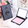 Una sola cara de La Mariposa rose Vintage mini espejo de maquillaje espejo de bolsillo compacto espejo de Maquillaje Limpieza de Aceite de Absorción de Papel de Cara