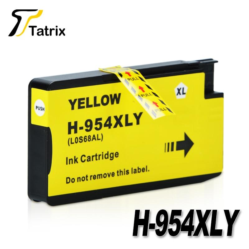 New For HP954  HP954XL Full Ink Cartridge BK/C/M/Y For HP OfficeJet Pro 7740 8210 8710 8715 8716 8720 8725 8730 8740 Printer