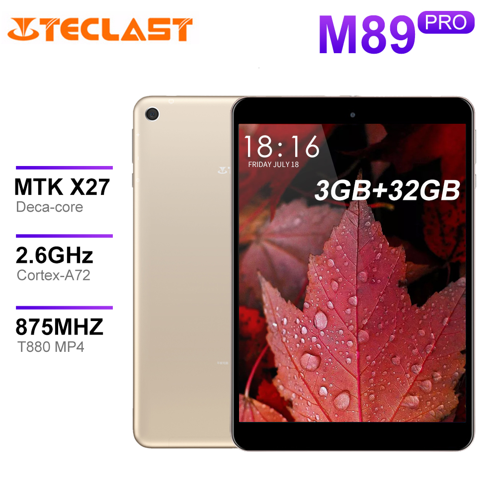 Teclast M89 Pro <font><b>Tablet</b></font> PC MTK Helio X27 (MT6797) zehn Core <font><b>3GB</b></font> <font><b>RAM</b></font> 32GB Typ-C 2,4G + 5G Dual-band WiFi <font><b>Tablet</b></font> 2048 × 1536 image