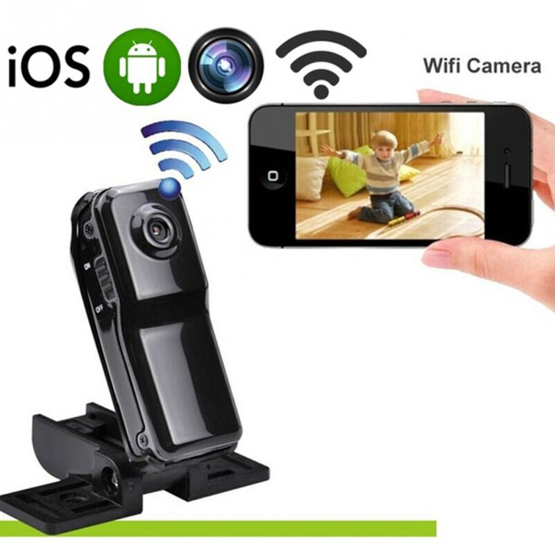 MD81S WIFI Mini Remote Surveillance DV Security Cam Camera With Micro SD Card Slot For IOS