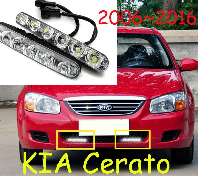 20062016 KIA Cerato Led Daytime Running Light2pcssetwire Of