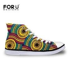 Forudesigns/Ретро винтажная Женская Вулканизированная обувь
