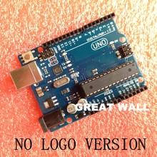 No LOGO UNO R3 MEGA328P ATMEGA16U2 for Arduino 10 pcs board + 10 pcs usb cable