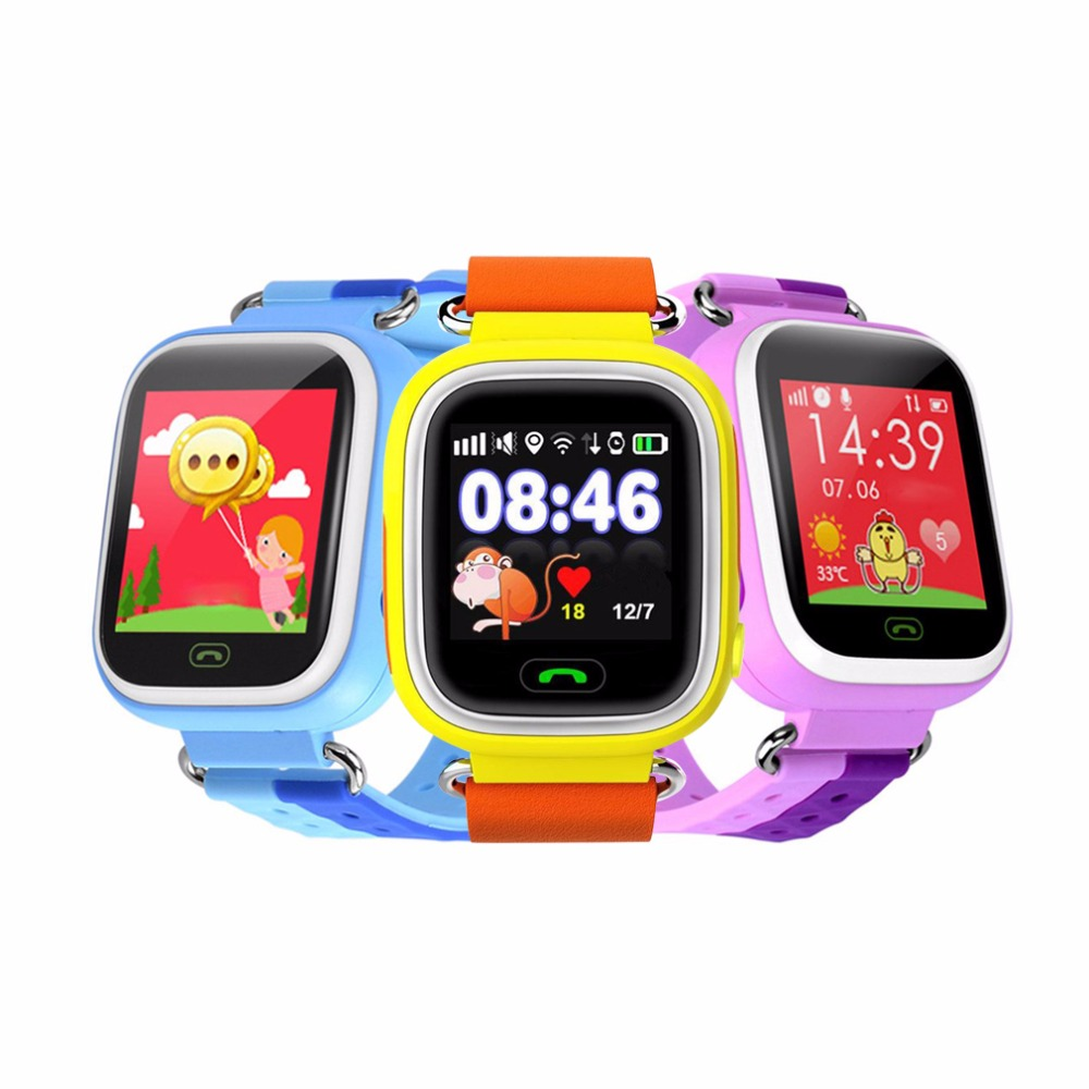 Q18 Smart Watch 1.44Inch Touch Screen WIFI SOS Call GPRS Location Device Anti Lost Tracker Fashion Children Watch for Kid Safe